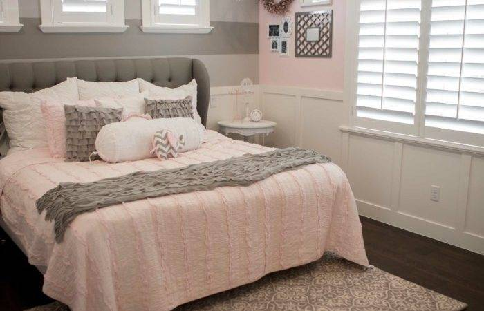Light Purple Grey Bedroom Collection Pink Gray
