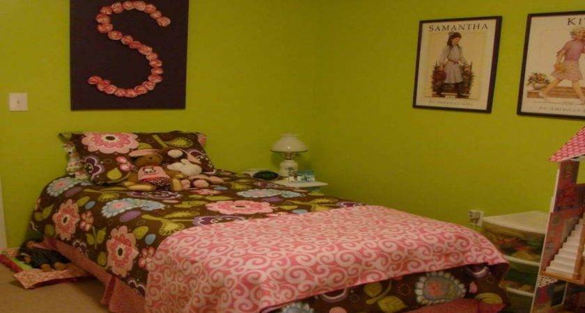 Lime Green Bedrooms Brown Bedroom