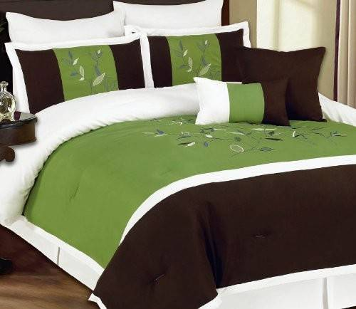 Lime Green Black Bedding Sweetest Slumber
