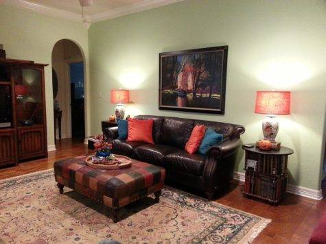 Living Room Accent Colors Modern House