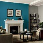 Living Room Accent Wall Paint Ideas Home Interior Design