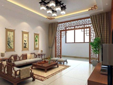 Living Room Asian Style Bedroom Sets Oriental Interior