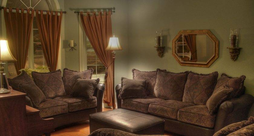 Living Room Attractive Chocolate Brown Sofa Ideas