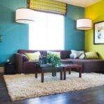 Living Room Color Schemes Accent Wall
