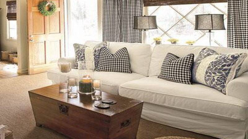 Living Room Cottage Style Design Ideas