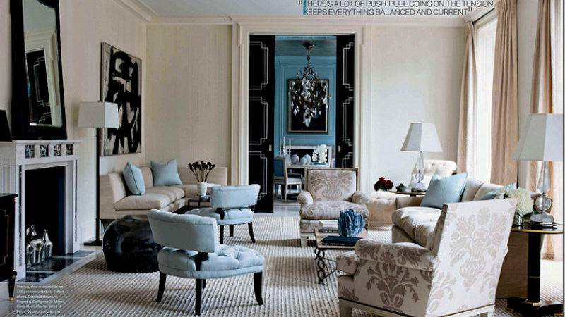 Living Room Decorating Ideas Blue Black Home Decor