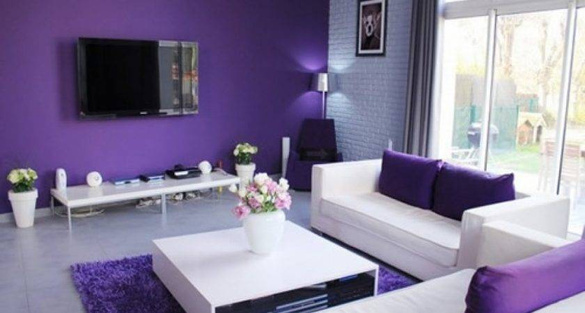 Stunning Black And Purple Living Room Decor 23 Photos Little Big Adventure