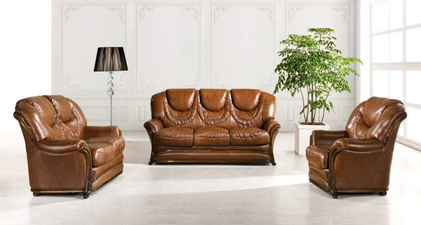 Living Room Design Brown Leather Couch Unique