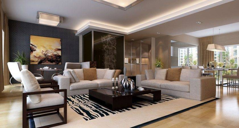 Living Room Dining Contracted Design House