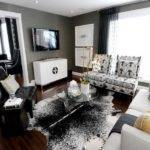 Living Room Gray White Wall Color Ideas