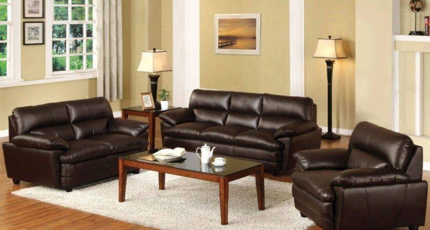 Living Room Ideas Brown Leather Couches White