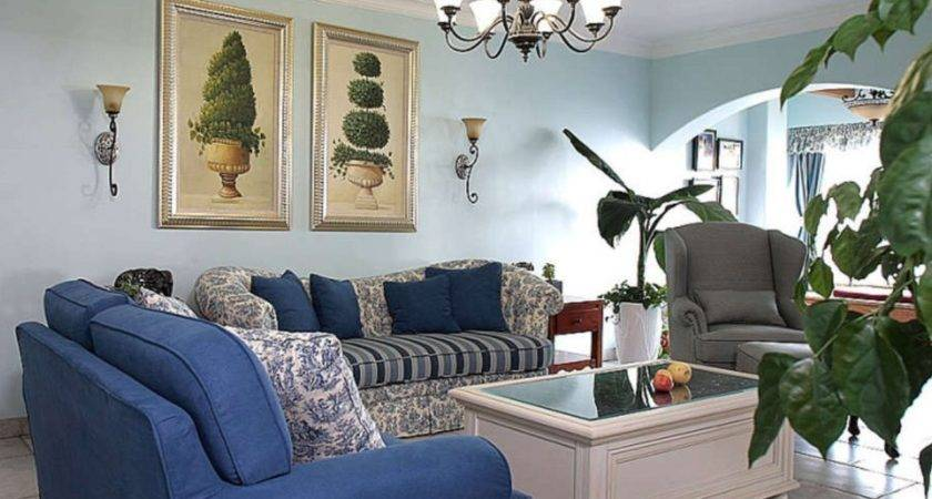Living Room Ideas Light Blue Home Garden
