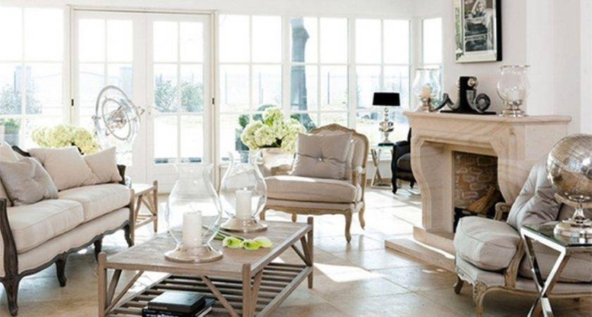 Living Room Inspiring French Country Ideas