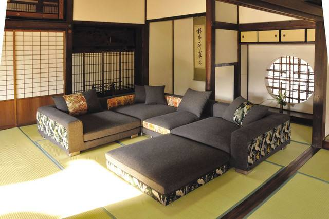 Living Room Japanese Home Decoration Club