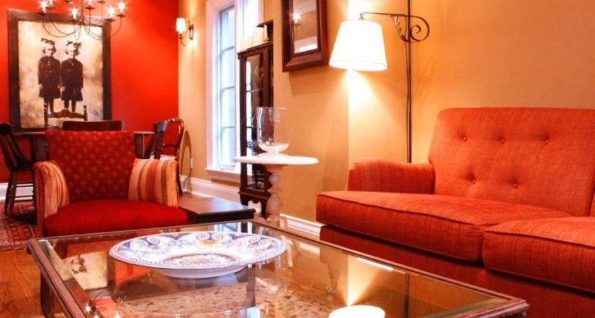 Living Room Paint Ideas Accent Wall Red