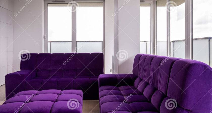 Living Room Purple Furniture