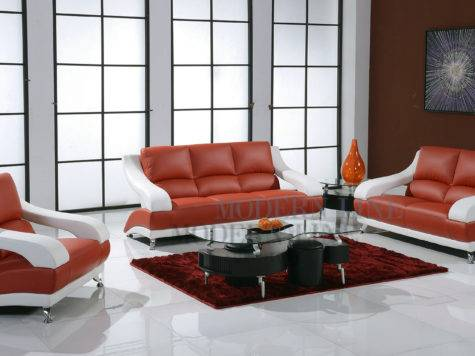 Living Room Sets White Modern House