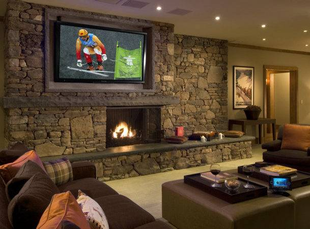 Living Room Theater Craftsman Cleveland