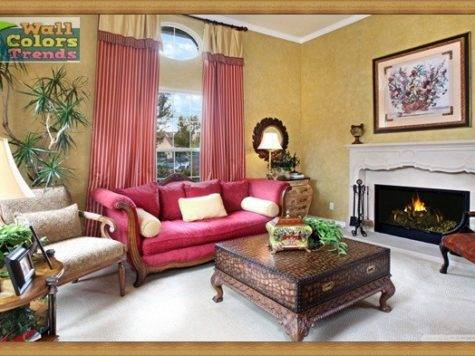 Living Room Trends Wall Colors