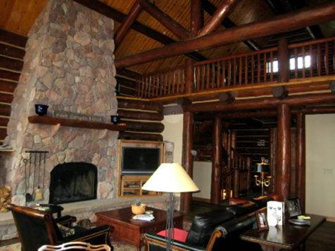 Lodge Log Cabin Ideas Interior Design Hartley Room