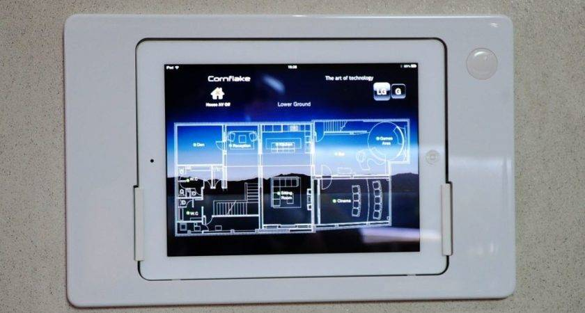 London Property Kitted Out Ipads Walls
