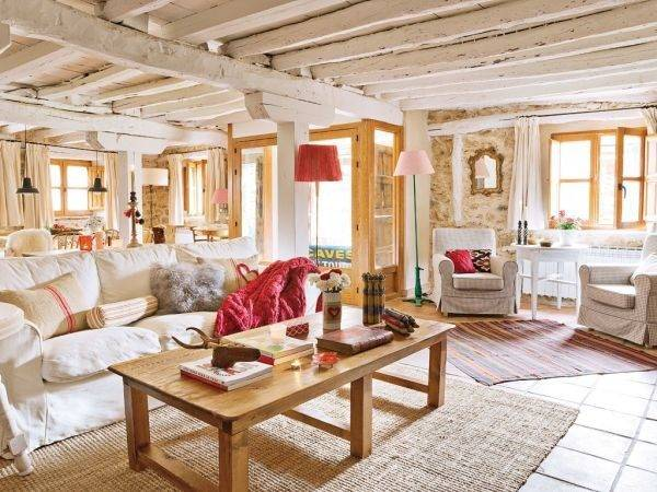 Lovevly Rustic Cottage Interior Featuring Surprising
