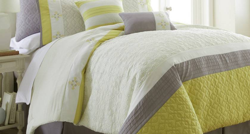 Luxe Piece Embroidered Comforter Set