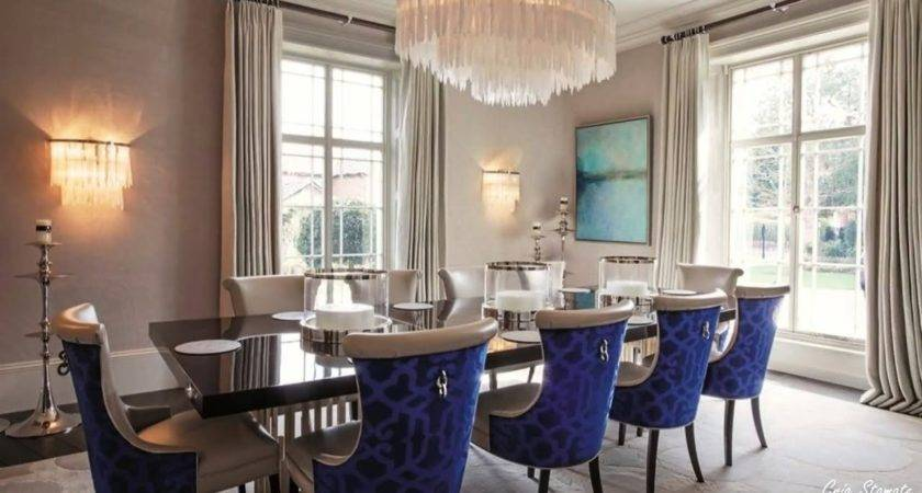Luxurious Formal Dining Room Design Ideas Elegant
