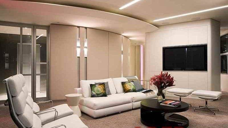 Luxury Apartment Living Room Home Design Ideas