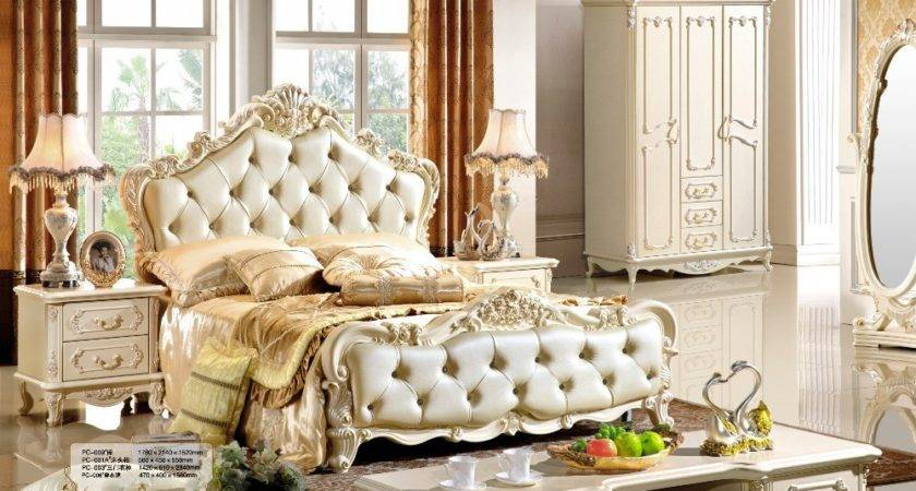 Luxury Cream French Style Bedroom Furniture Greenvirals
