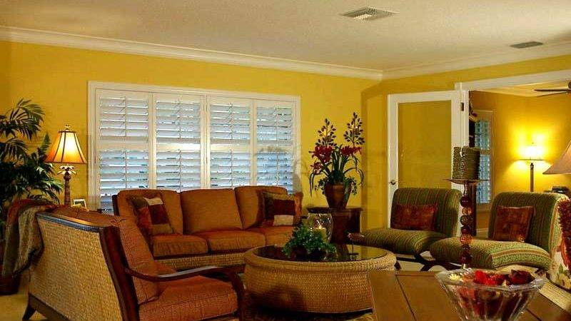 Luxury Yellow Living Room Interior Wall Paint Color Ideas