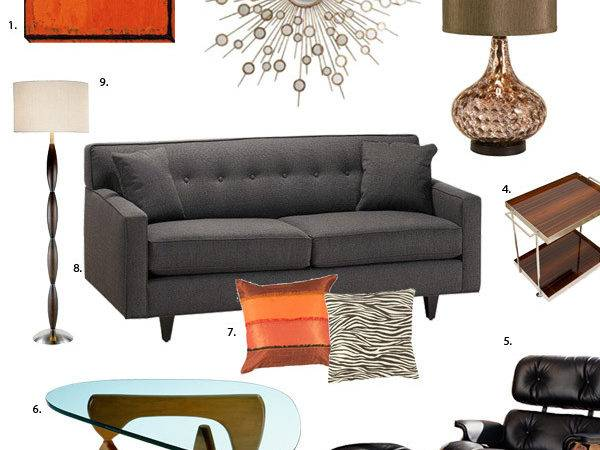 Mad Men Inspired Home Decorating Bee Plan
