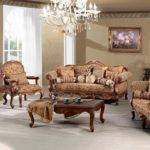 Madeleine Luxury Living Room Sofa Set