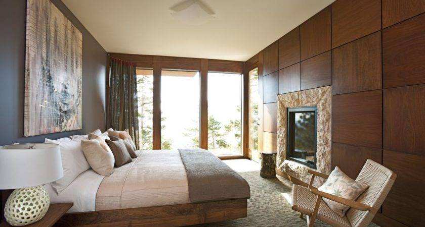 Mahogany Modern Bedroom Interior Decoration Decobizz