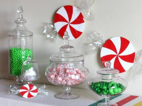 Make Christmas Candy Decorations Tos Diy