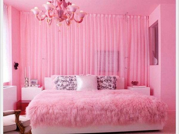 Make Pink Adult Bedroom Home Interior Design