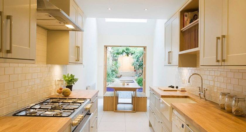 Make Small Kitchen Look Bigger Very Cozy Home