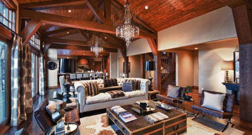 Makeover Your Living Room Modern Rustic
