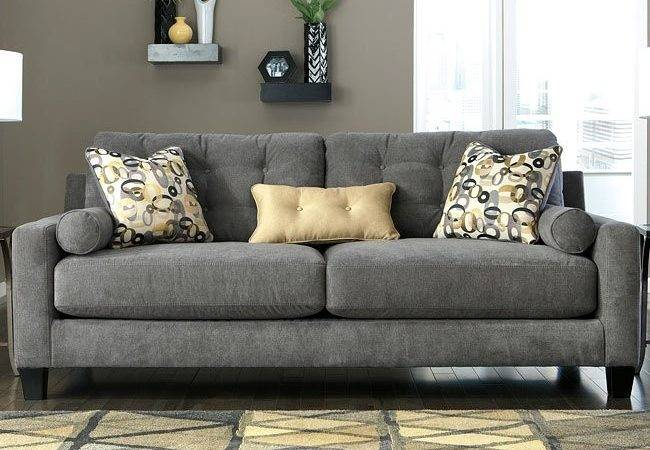 Mallbern Charcoal Sofa Sofas Living Room Furniture