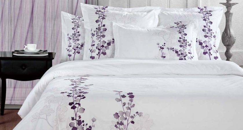 Manor Hill Lilac Duvet Set Queen