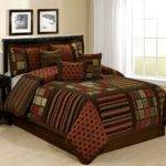 Maroon Black Bedding Sets Ease Style