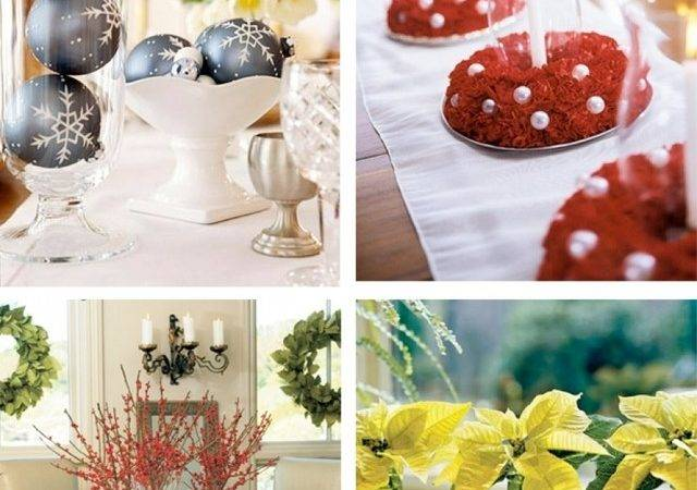 Martha Stewart Christmas Table Decorations Easy Outdoor