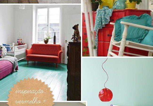 Marvelous Turquoise Red Decor