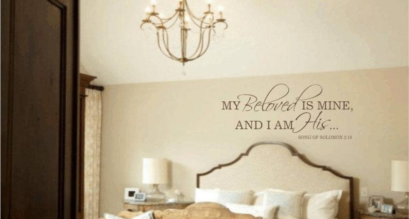 Master Bedroom Wall Decal Beloved Mine