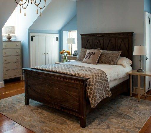 Master Bedroom Year Old Farmhouse Danziger Design