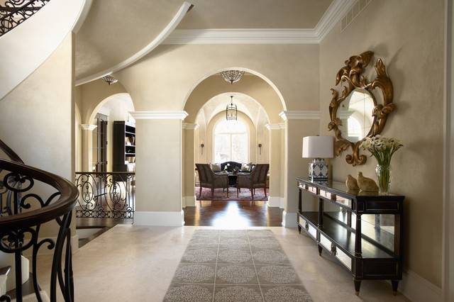 Merilane Avenue Residence Foyer Traditional