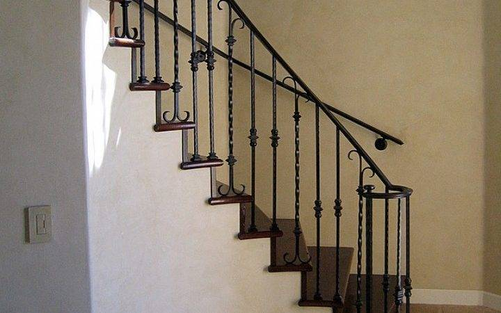 Metal Handrails Indoor Stairs More Decor