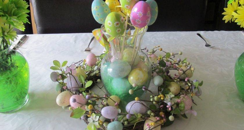 Mia Cucina Easter Table Decorations