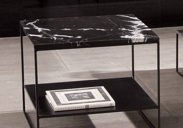 Minotti Calder Marble Coffee Table Modern