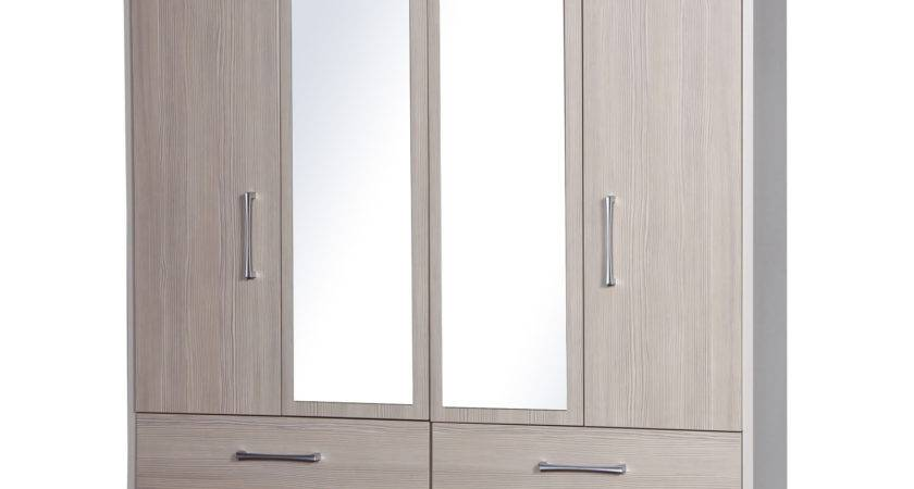 Mirrored Wardrobes Next Day Delivery